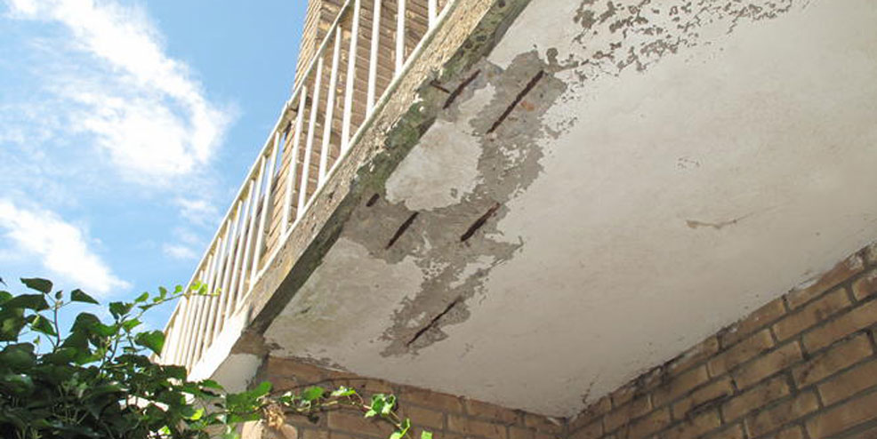 Hoe herken je betonrot?
